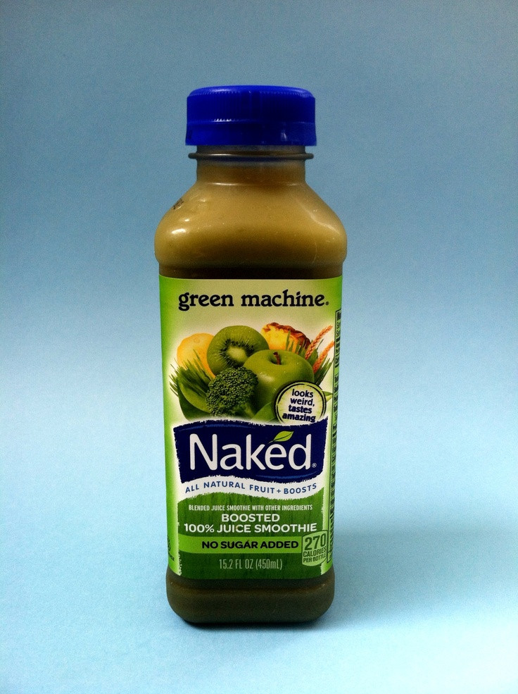 Naked Smoothies Healthy  Naked Green Machine Juice Smoothie 2 3 4 Apples 1 2 Banana