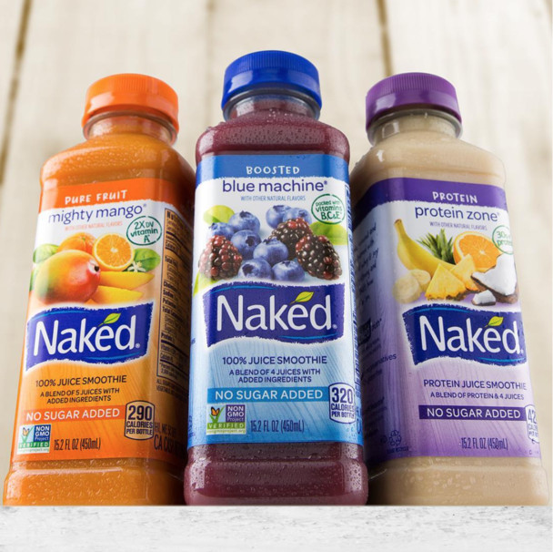 """Naked Smoothies Healthy  Are Naked Juices as """"Naked"""" as they Promise to be"""