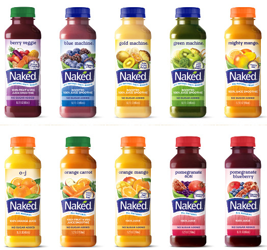 Naked Smoothies Healthy  Naked Juice Removes 'All Natural' Label Because GMOs