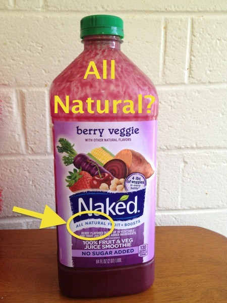 """Naked Smoothies Healthy  Why Is Naked Juice Removing """"All Natural"""" from Its Product"""