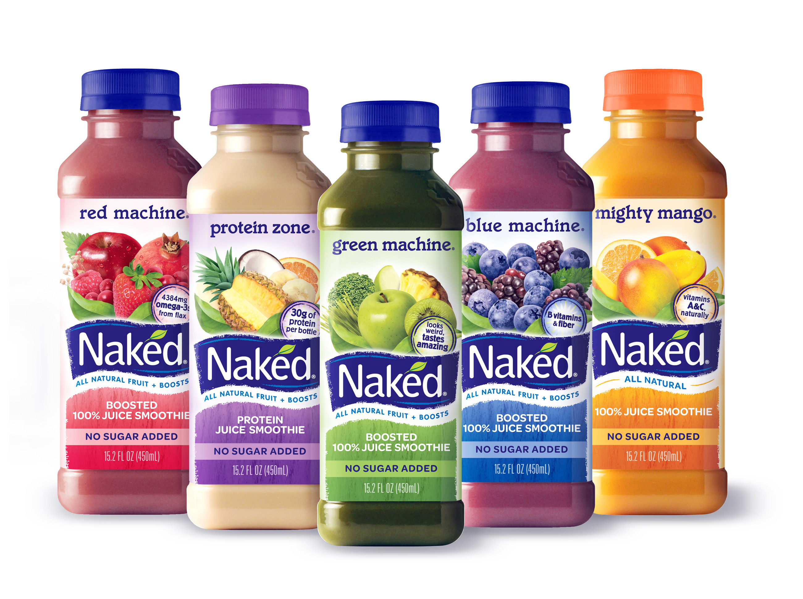 """Naked Smoothies Healthy  9 Faux """"Health Foods"""" That ll Blow Up Your Belly Lean It UP"""