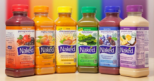Naked Smoothies Healthy  50 Plus Stickers and Decals You Can Get line for Free