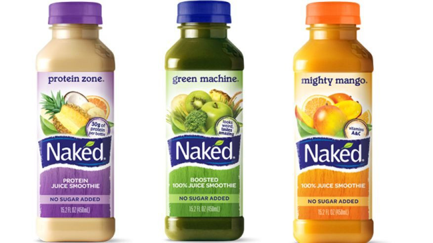 Naked Smoothies Healthy  Naked Juice pany settles lawsuit against 'all natural