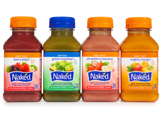 Naked Smoothies Healthy  Naked Juice Smoothies 12 x 10 oz Variety Pack