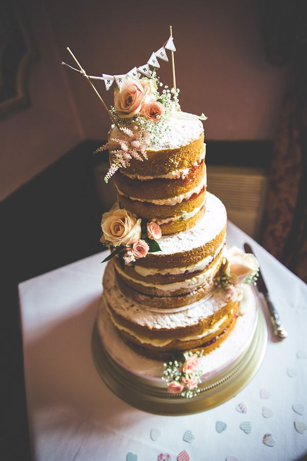 Naked Wedding Cake Recipe  Rustic Naked Wedding Cake Ideas and Designs