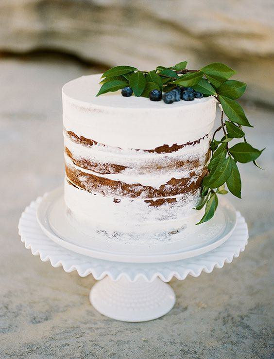 Naked Wedding Cake Recipe  17 Naked Cakes and How to Make Your Own