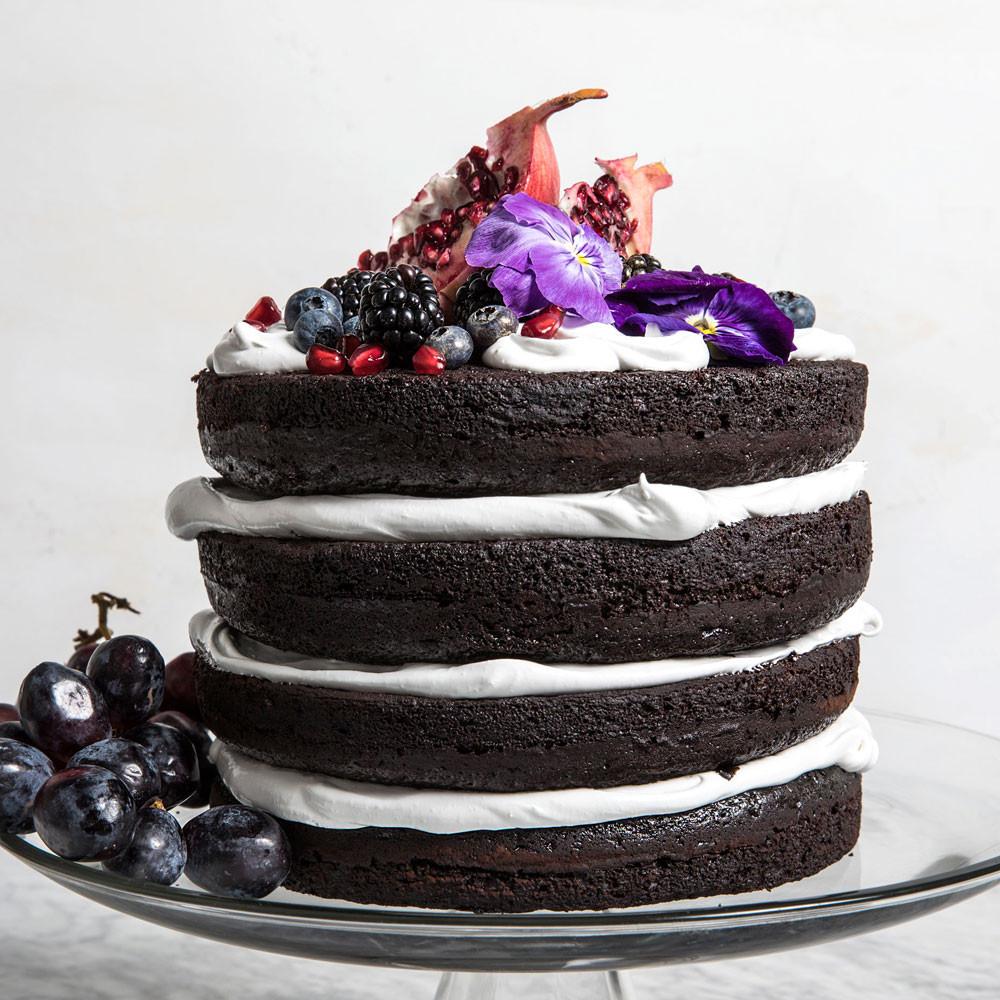 Naked Wedding Cake Recipe  Naked Wedding Cake Recipe Paige McCurdy Flynn