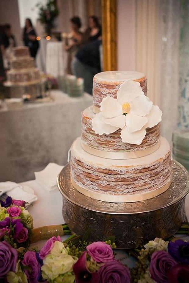 Naked Wedding Cake Recipe  Naked Wedding Cakes Rustic Beautiful Creative or Unique