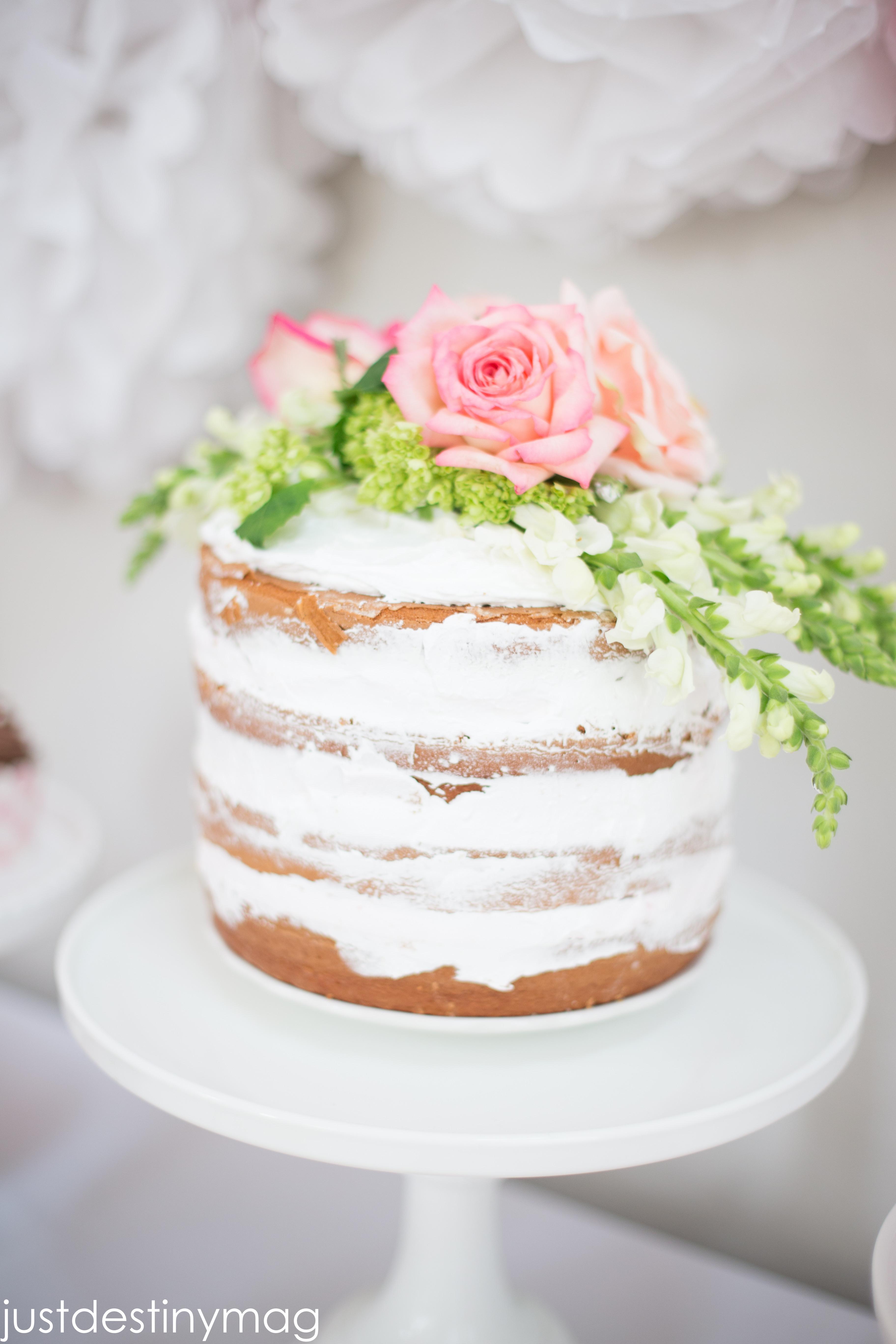 Naked Wedding Cake Recipe  How to make Beautiful NAKED CAKES