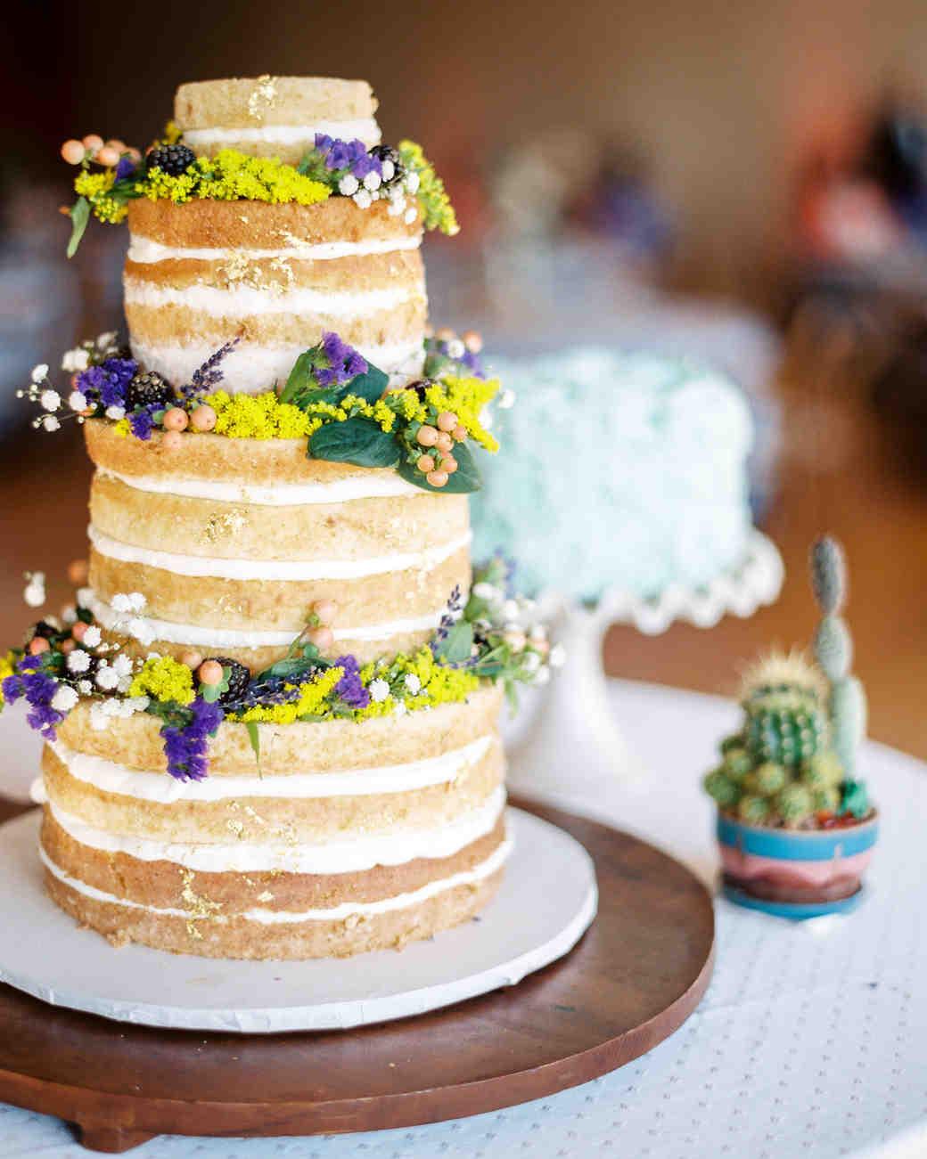 Naked Wedding Cake Recipe  Beautiful Naked Wedding Cake Ideas