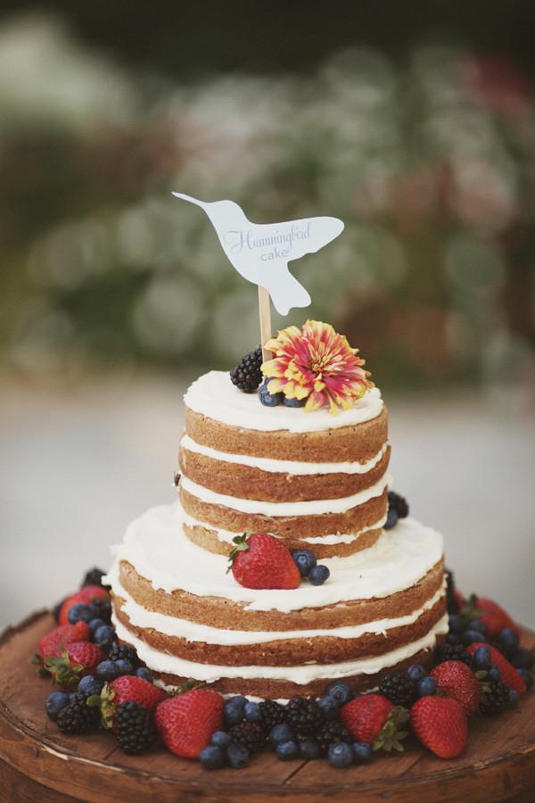 Naked Wedding Cake Recipe  Life of a Vintage Lover Naked Wedding Cakes