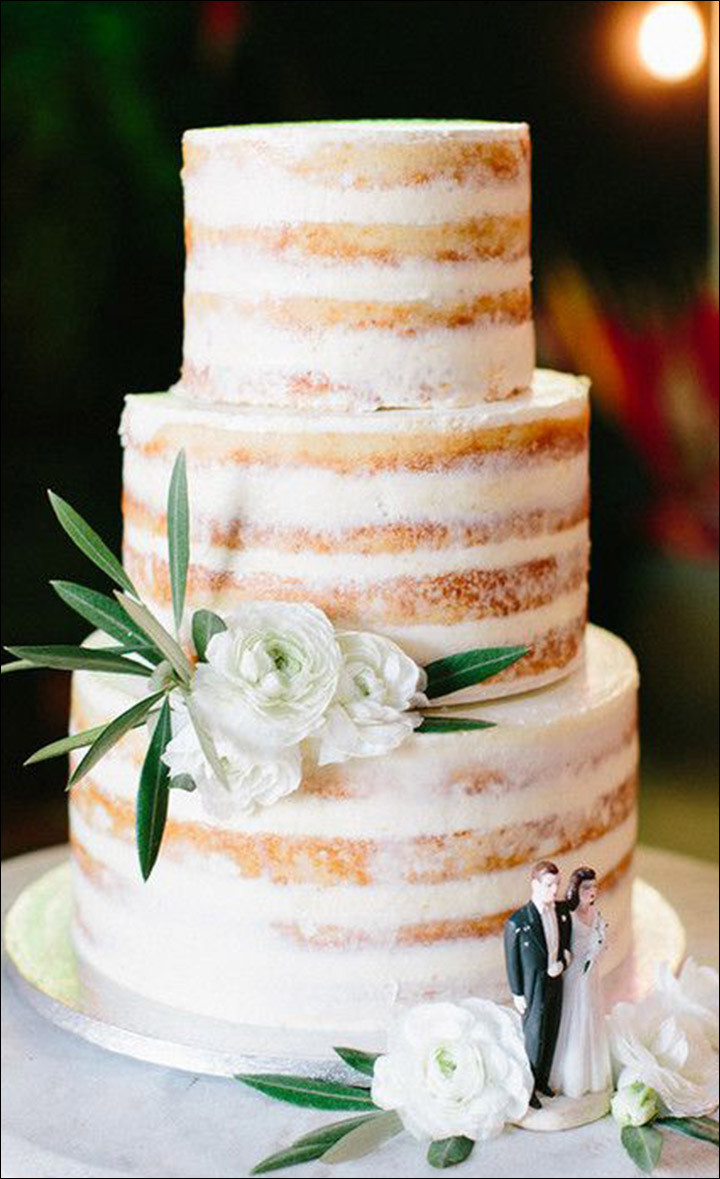 Naked Wedding Cake Recipes  11 Simple Wedding Cakes That You Will Love