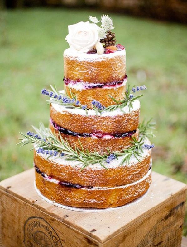 Naked Wedding Cake Recipes  31 Beautiful Naked Wedding Cake Ideas For 2016