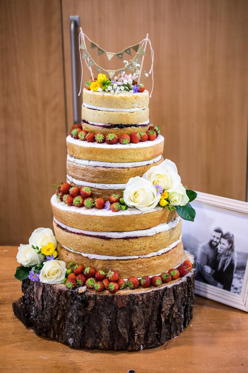 Naked Wedding Cake Recipes  Making A Naked Wedding Cake Every Nook & Cranny