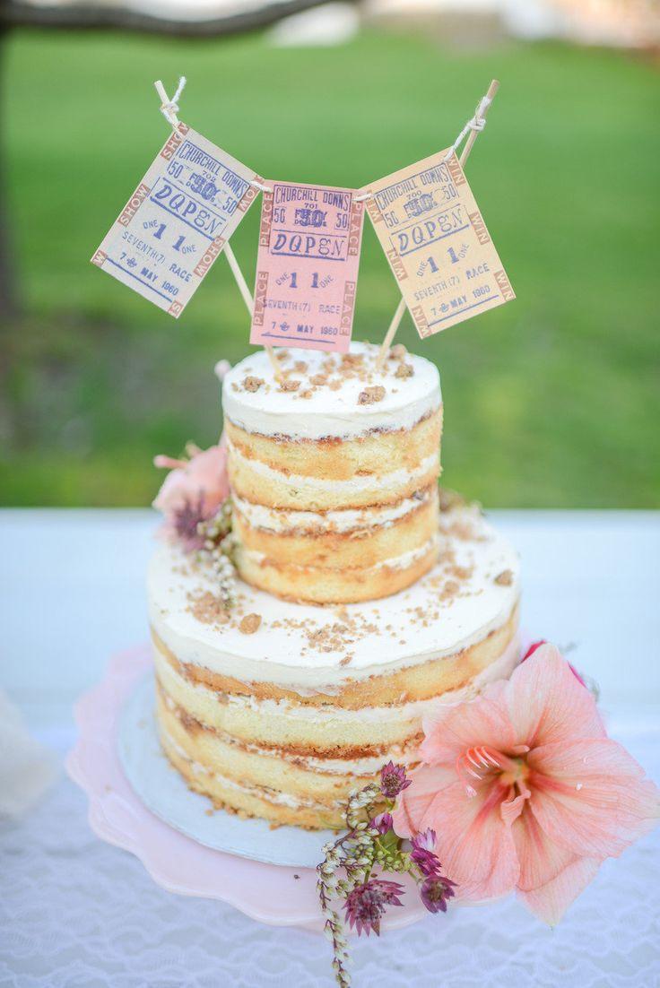 Naked Wedding Cakes  Naked Wedding Cakes ideas 25 Rustic Naked Wedding Cakes