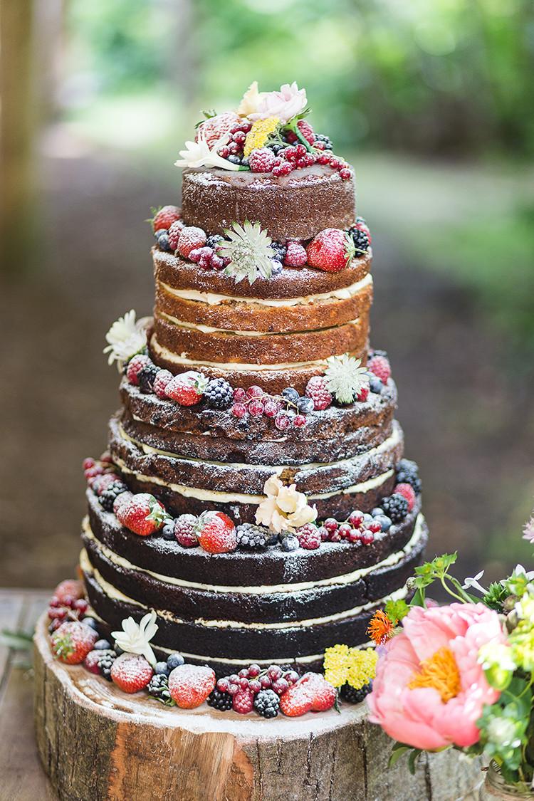Naked Wedding Cakes  Naked Wedding Cake Ideas
