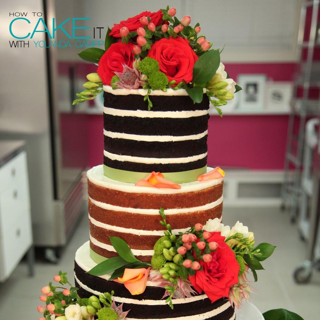 Naked Wedding Cakes  Naked Wedding Cake