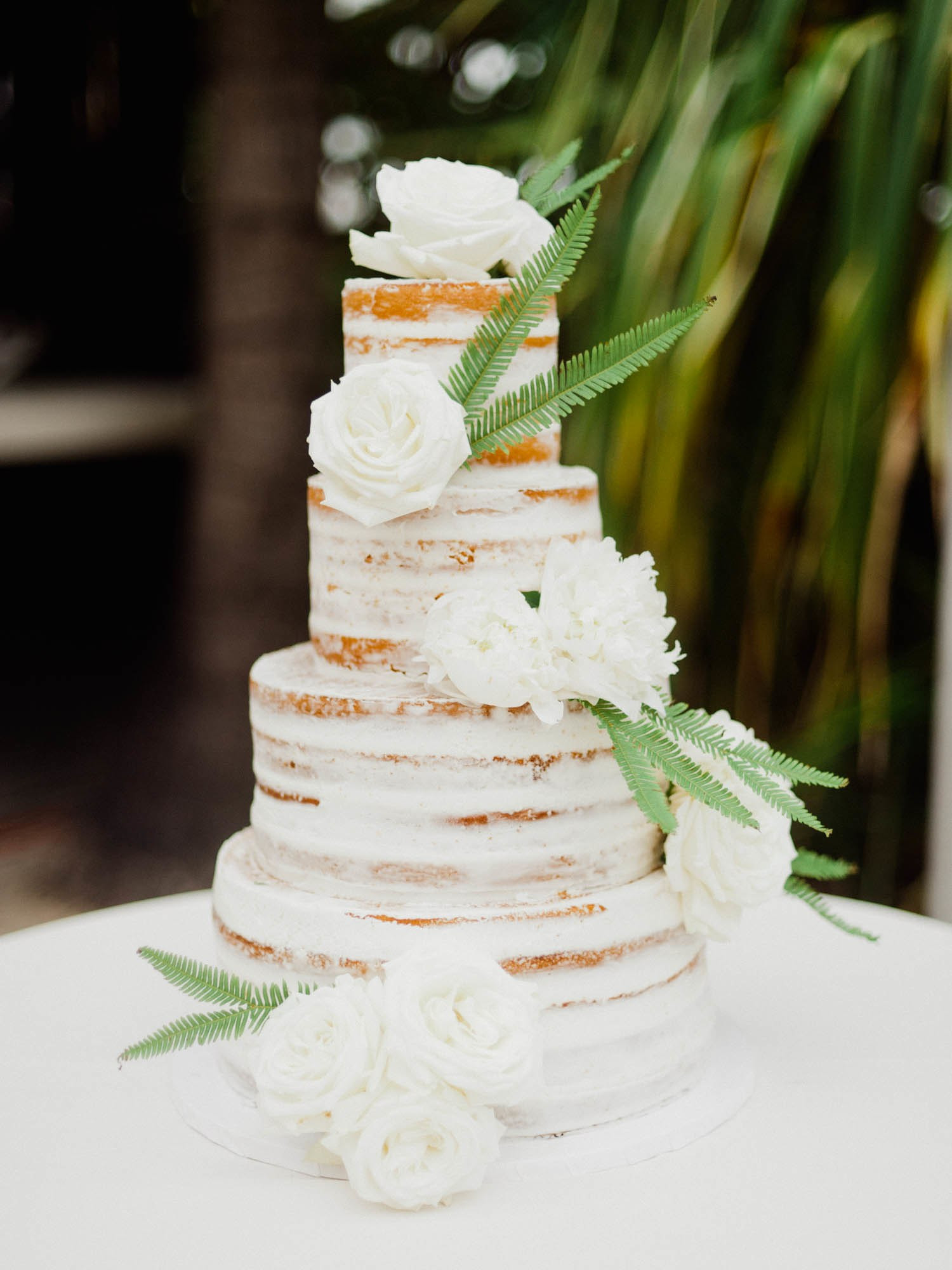 Naked Wedding Cakes  Sweet and Simple Naked Wedding Cakes
