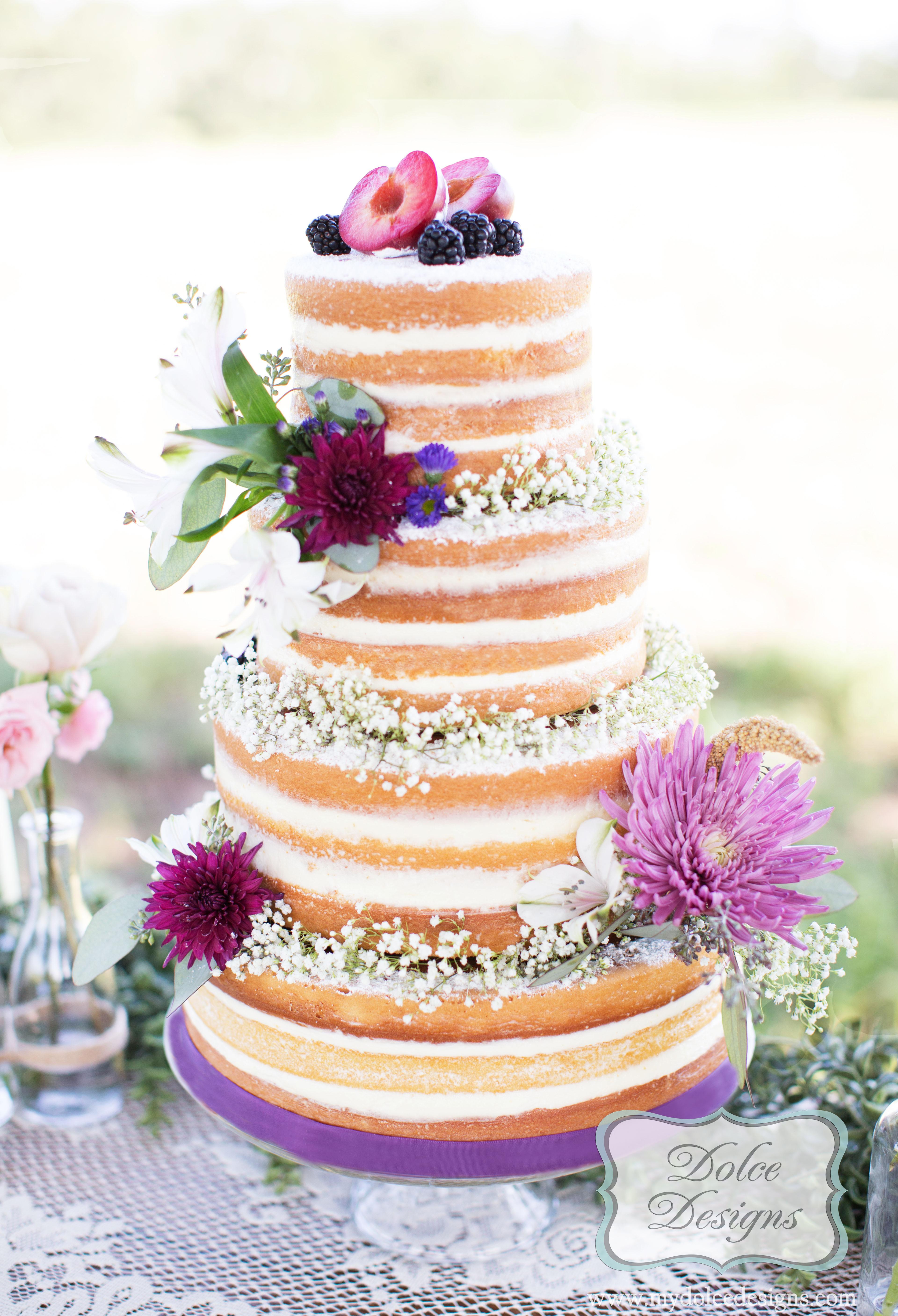 Naked Wedding Cakes  wedding cakes Houston