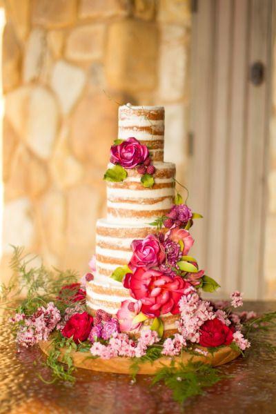 Naked Wedding Cakes  49 Naked Wedding Cake Ideas for Rustic Wedding