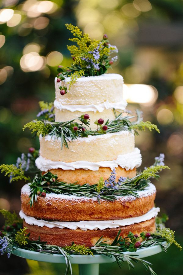 Nature Themed Wedding Cakes  7 Beautiful and Easy Nature Inspired Wedding Ideas