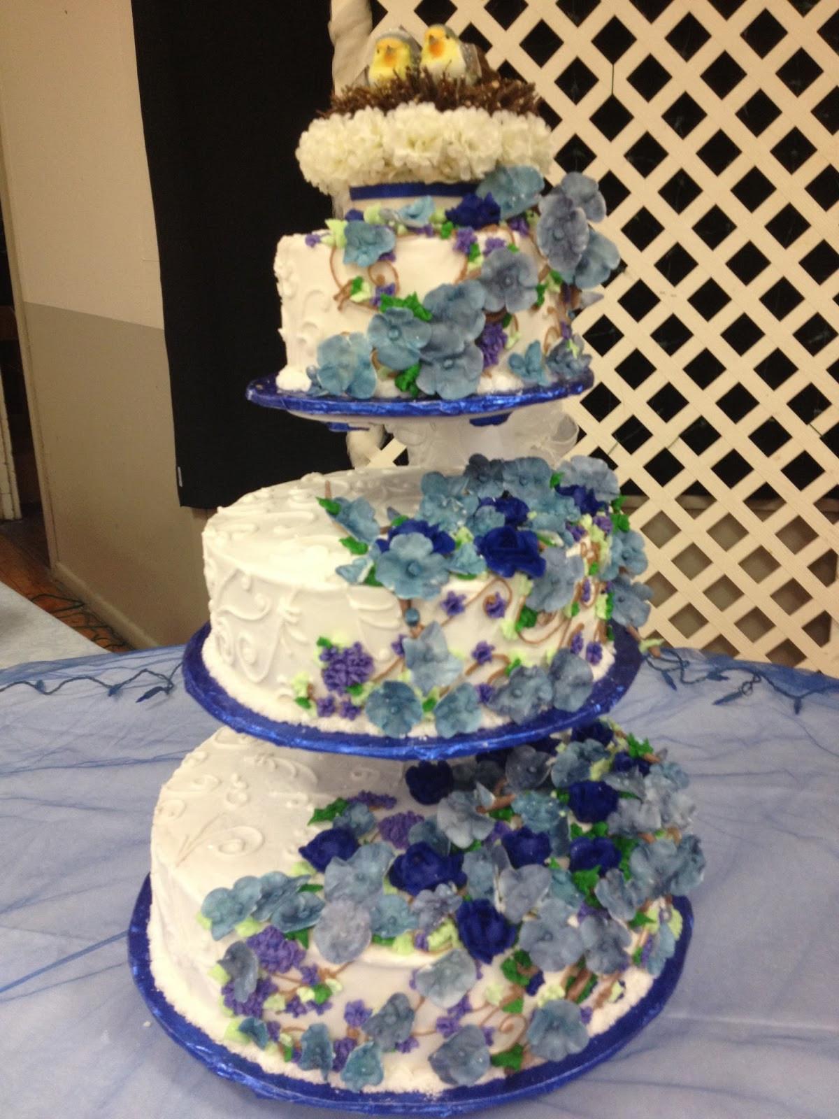Nature Themed Wedding Cakes  Life and Other Shenanigans Nature Inspired Wedding Cake