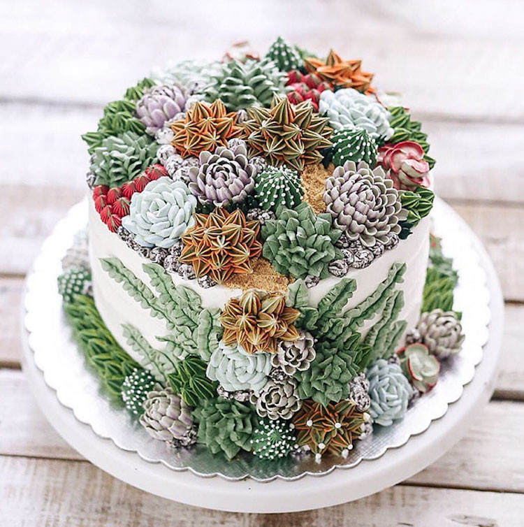 Nature Themed Wedding Cakes  Nature Inspired Cakes Capture the Beauty of the Earth and