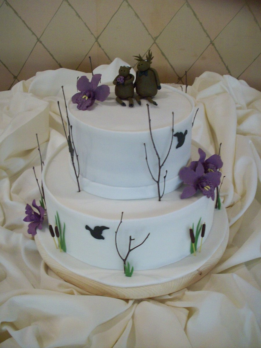 Nature Themed Wedding Cakes  Nature Inspired Wedding Cake CakeCentral
