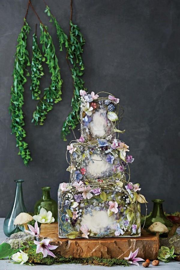 Nature Themed Wedding Cakes  Nature Inspired Wedding Cakes
