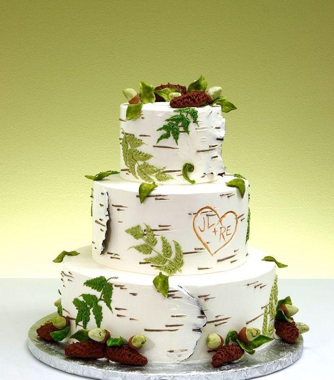 Nature Themed Wedding Cakes  Ultimate nature wedding cake Awesome