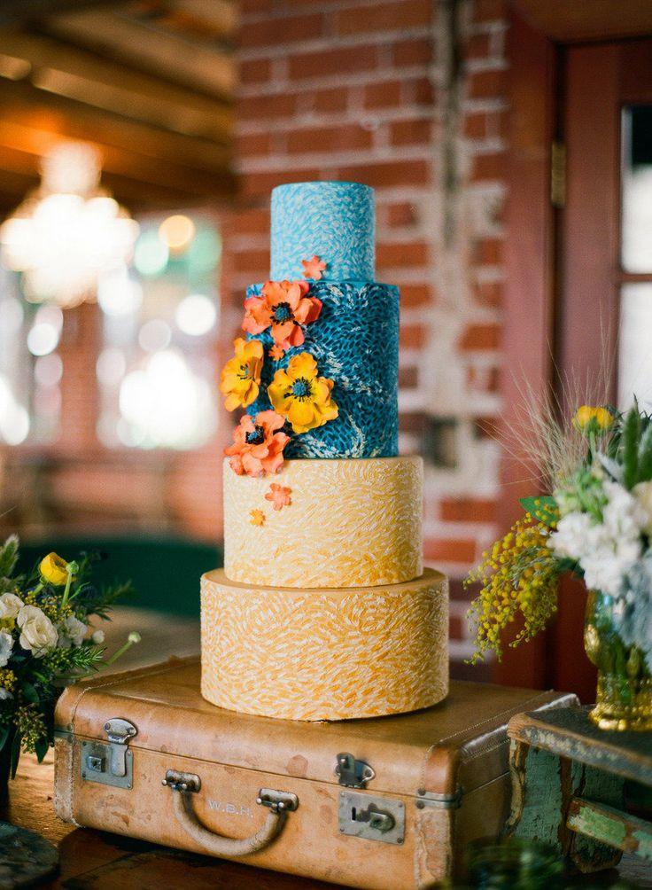Nature Wedding Cakes  10 Too Gorgeous to Eat Wedding Cakes