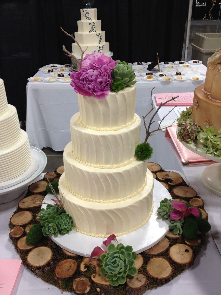 Nature Wedding Cakes  Nature inspired wedding cakes idea in 2017