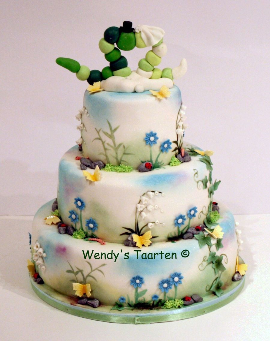 Nature Wedding Cakes  A Wedding Cake For Nature Lovers CakeCentral