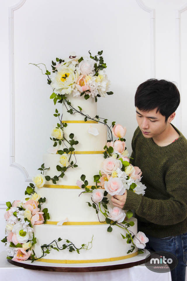 Nature Wedding Cakes  Nature inspired wedding cake cake by Mito Sweets