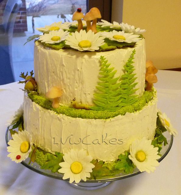 Nature Wedding Cakes  photo