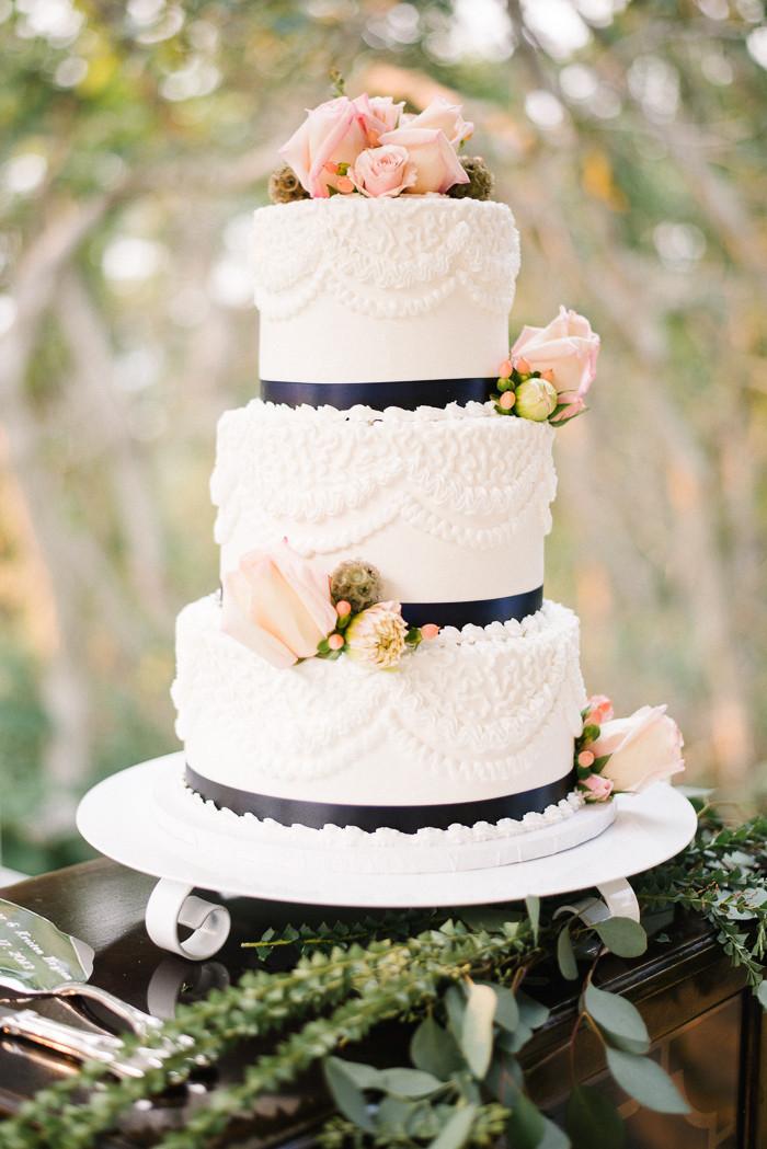 Nautical Wedding Cakes  A Nautical Wedding Cake Jenna Bechtholt graphy
