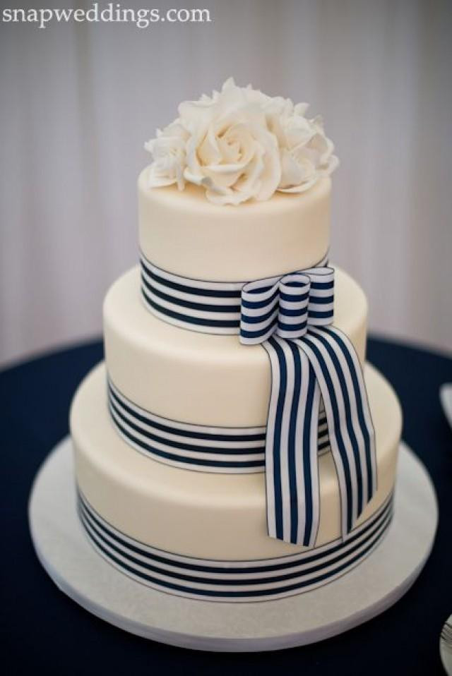 Nautical Wedding Cakes  Nautical Wedding Nautical A Cake Weddbook