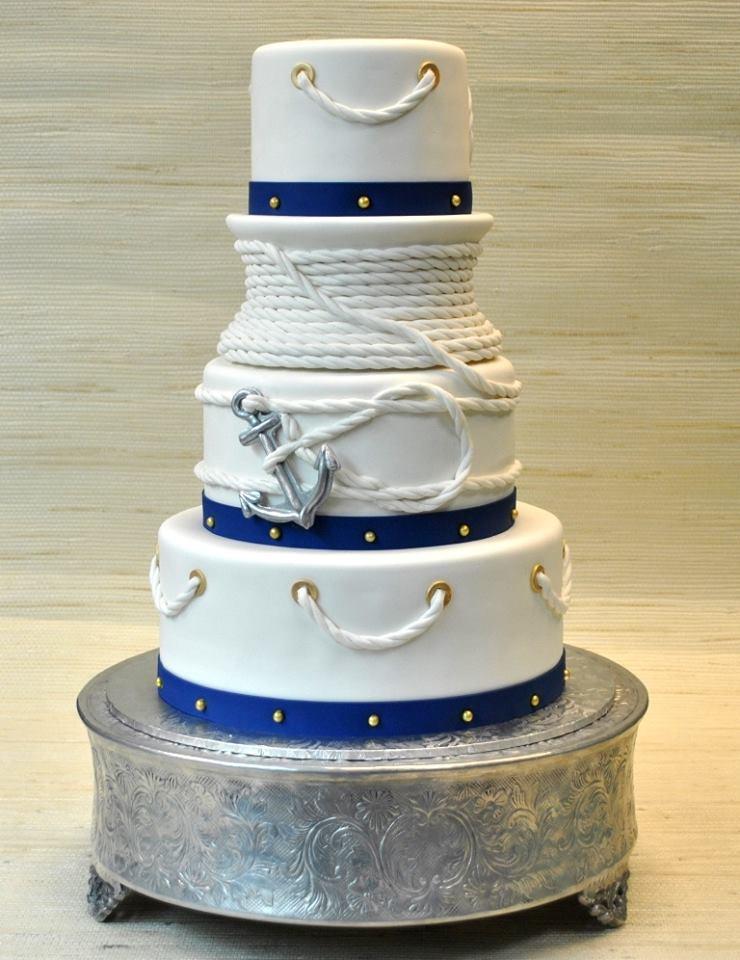 Nautical Wedding Cakes  15 Nautical Rope Wedding Cakes • DIY Weddings Magazine