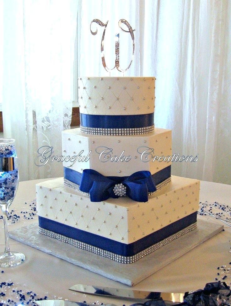 Navy Blue Wedding Cakes  home improvement Navy blue wedding cake Summer Dress