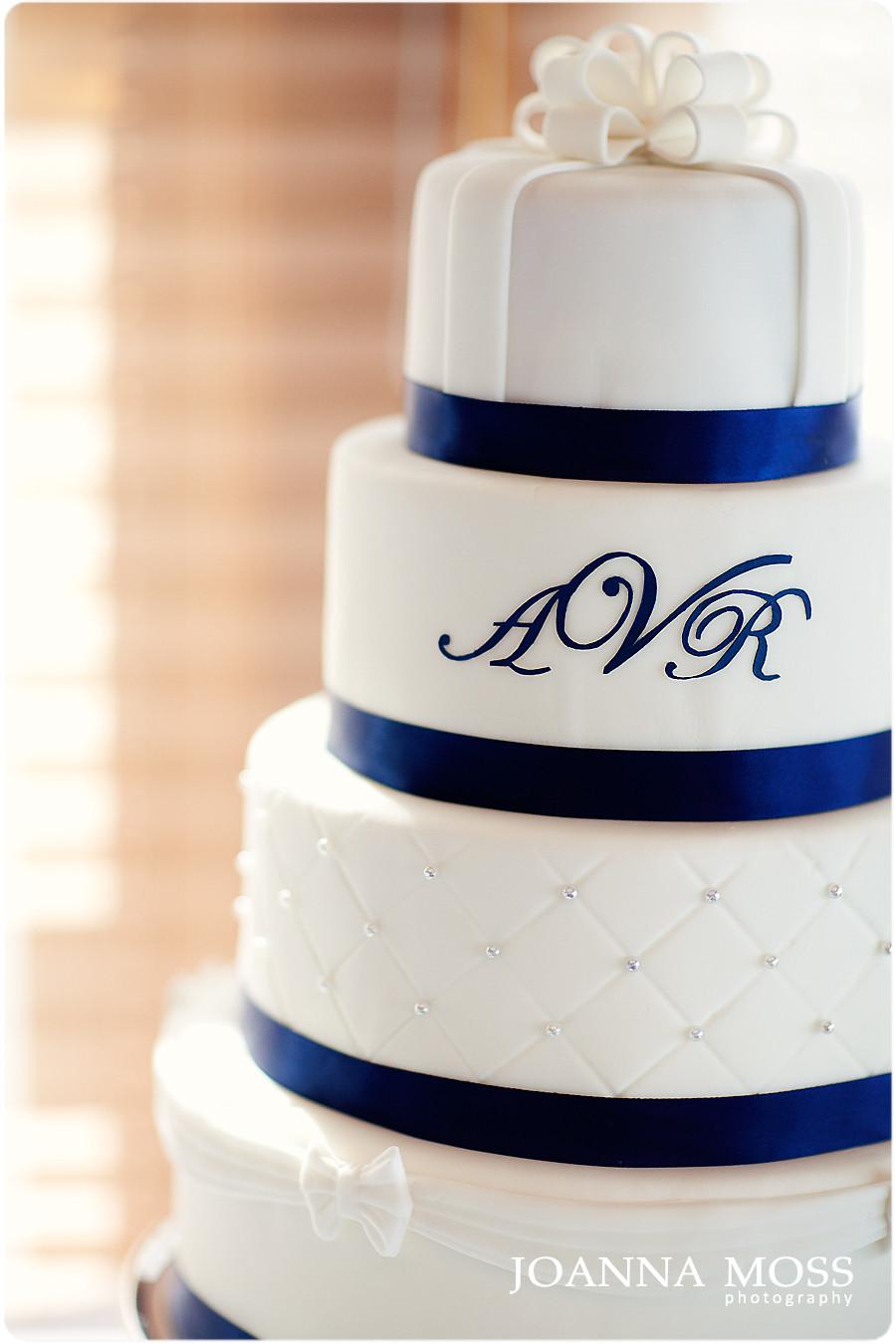 Navy Blue Wedding Cakes  Navy blue wedding cake idea in 2017