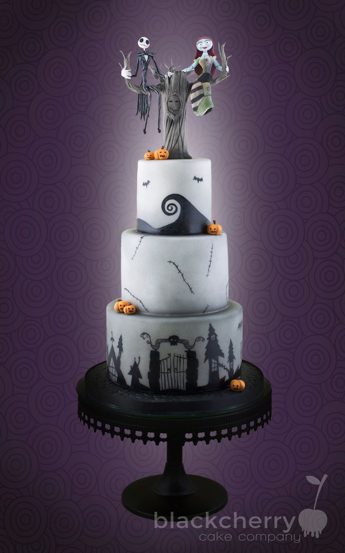 Nightmare Before Christmas Wedding Cakes  17 Geeky Wedding Cake Designs for Geeks 6 Is So Dashing