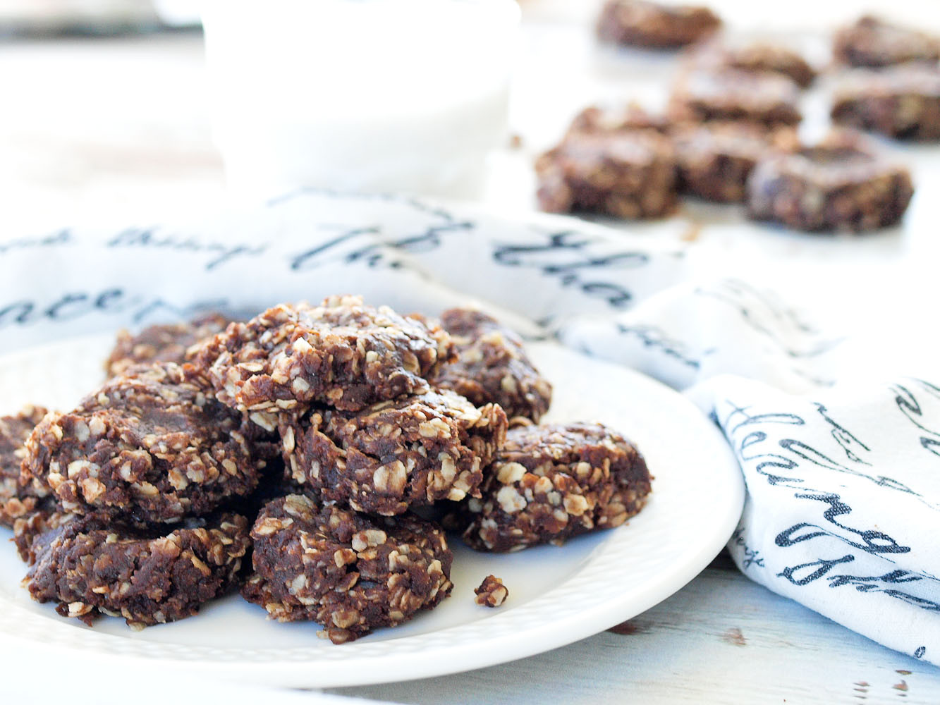 No Bake Cookies Healthy  Healthy No Bake Chocolate Cookies