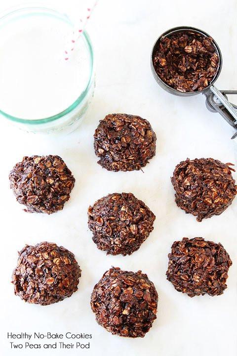 No Bake Cookies Healthy  Healthy No Bake Cookies Gluten Free Cookie Recipe