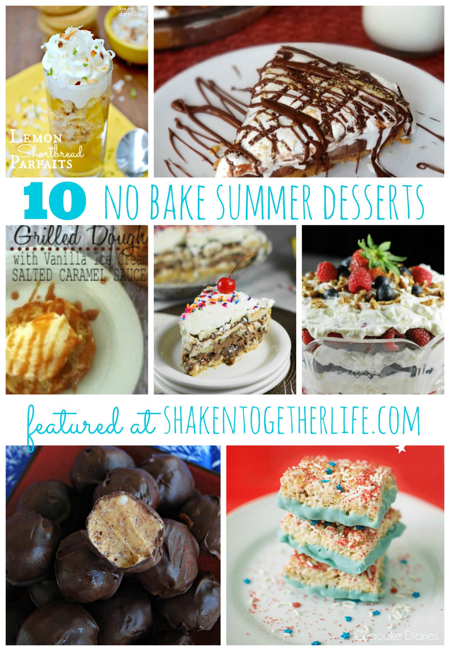 No Bake Desserts For Summer  10 No Bake Desserts for Summer at Shaken To her