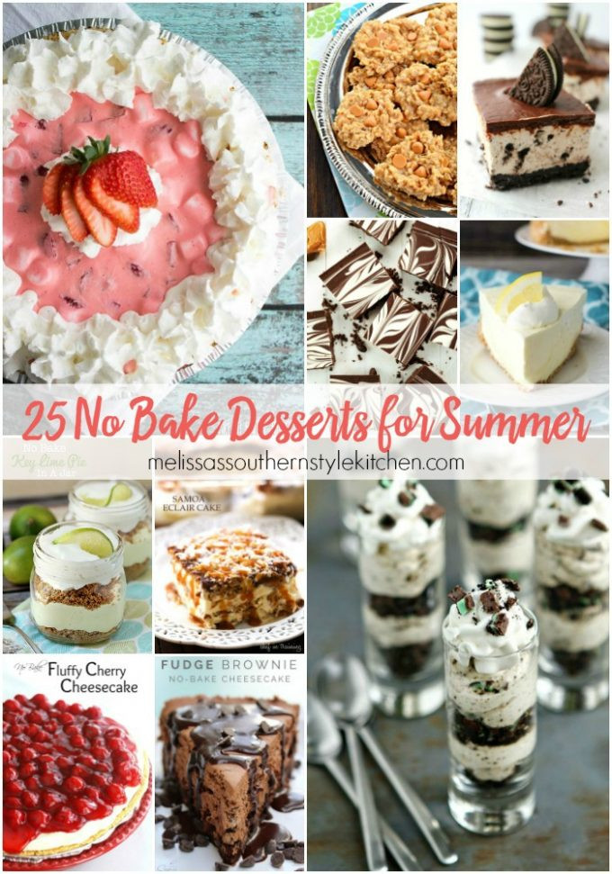 No Bake Desserts For Summer  25 No Bake Desserts for Summer