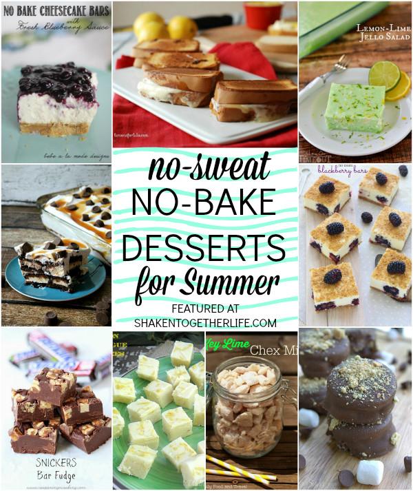 No Bake Desserts For Summer  Easy No Bake Desserts for Summer