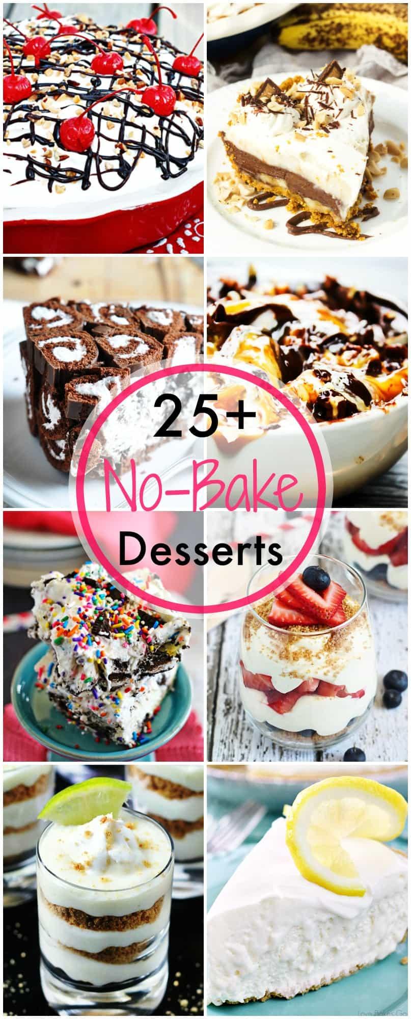 No Bake Desserts For Summer  25 No Bake Dessert Recipes