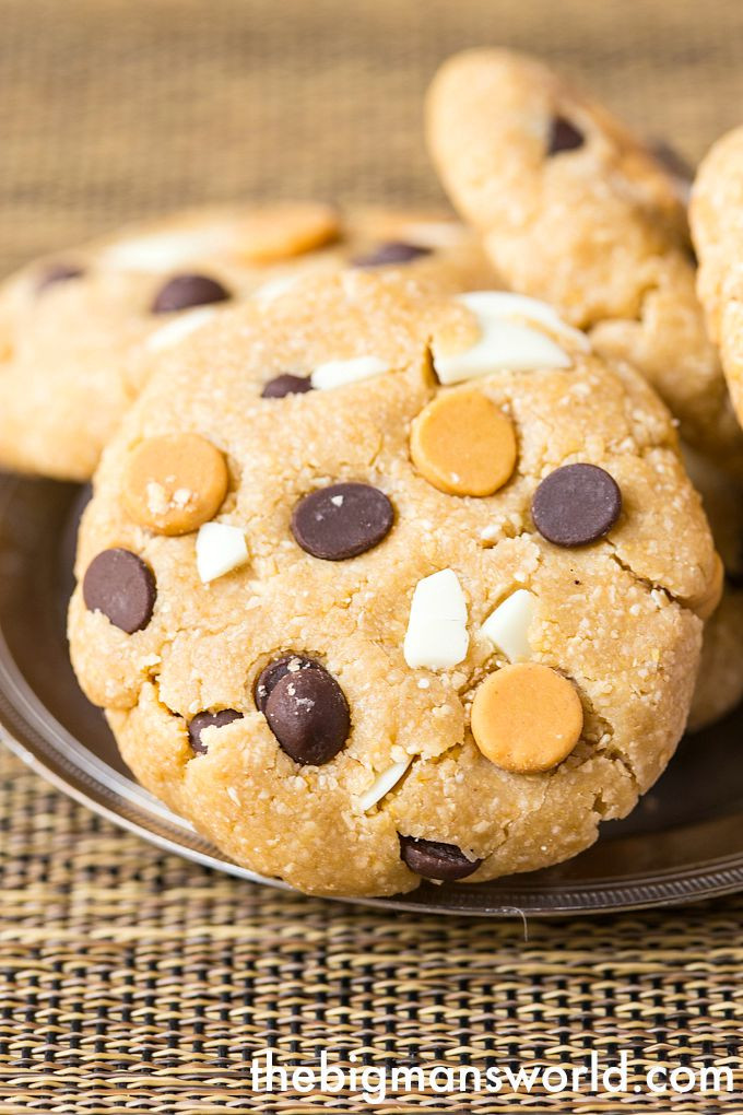 No Bake Healthy Cookies  Loaded Healthy No Bake Cookies