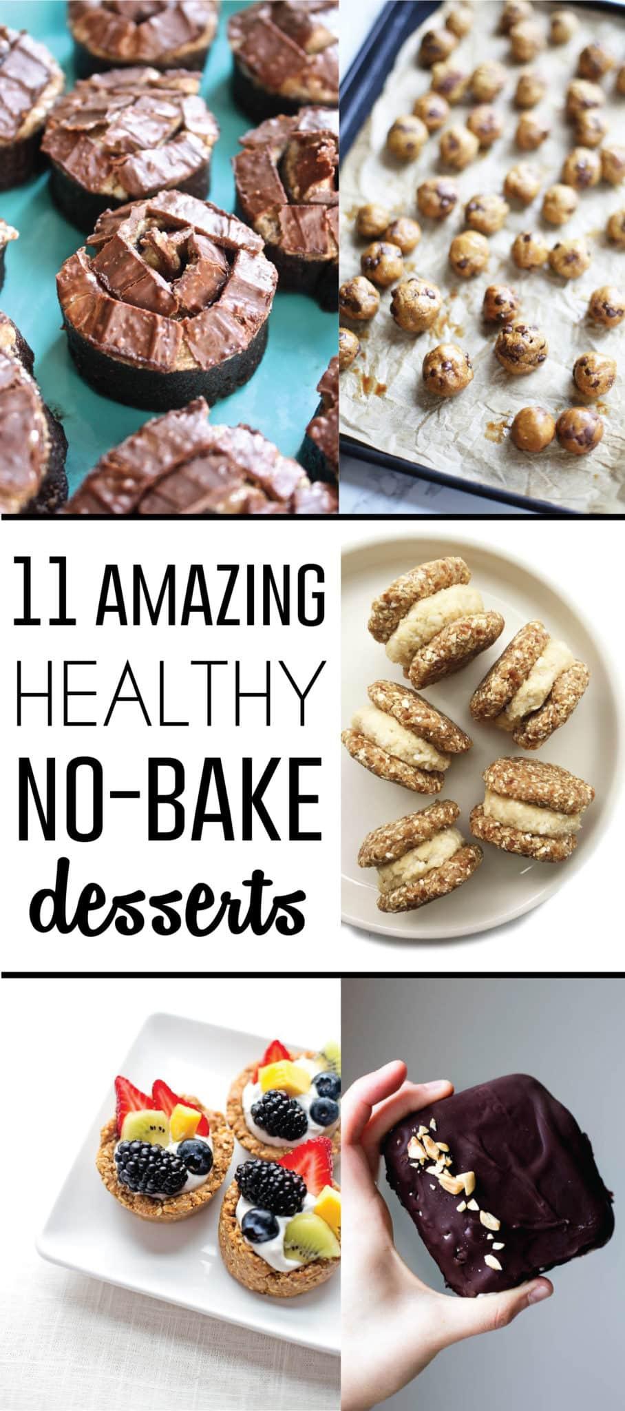 No Bake Healthy Dessert  11 Amazing Healthy No Bake Dessert Recipes • Fit Mitten
