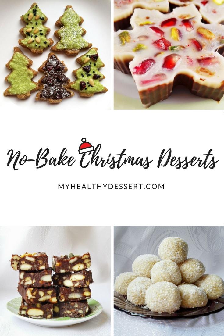 No Bake Healthy Dessert  Delicious No Bake Christmas Desserts My Healthy Dessert